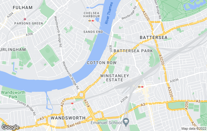 Map for The Haywoods Group, London- lettings
