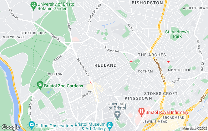 Map for Accommodation Unlimited , Bristol