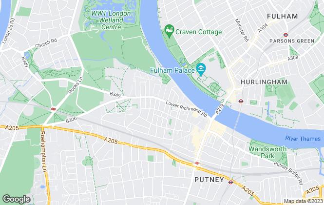 Map for Glenthorne Properties Ltd, London