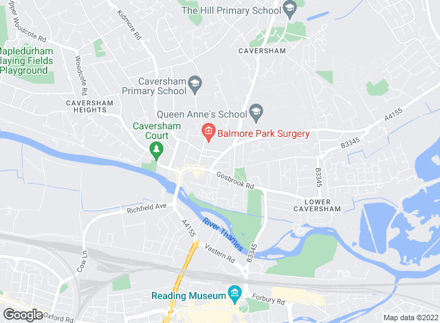 Map for Nicholas Estate Agents, Caversham