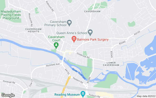 Map for Fine And Country, Caversham - Lettings