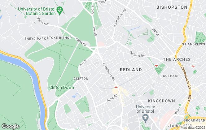 Map for Alder King, Bristol