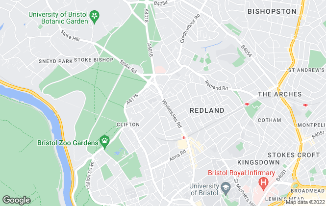 Map for Richard Harding, Clifton