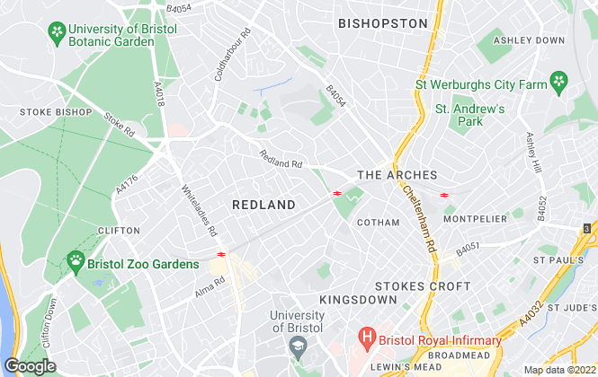Map for Cloud9 Aspirational Property Management , Bristol