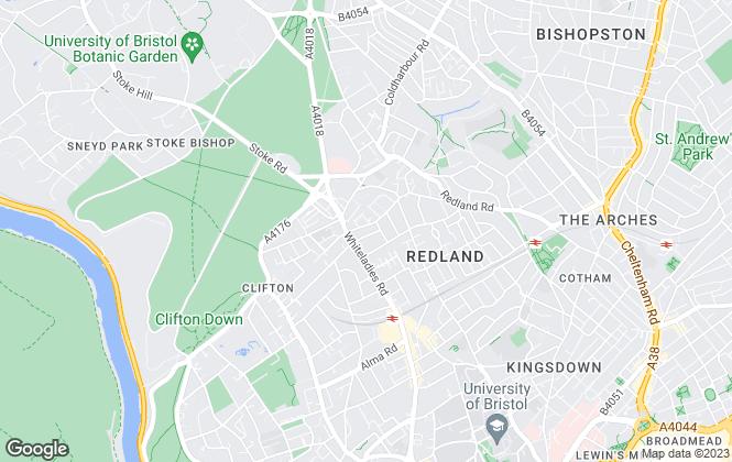 Map for Land Market, Bristol