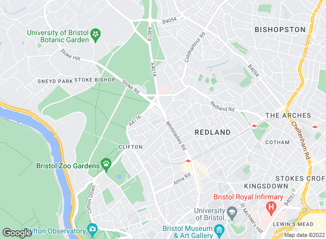 Map for Cliftons, Bristol