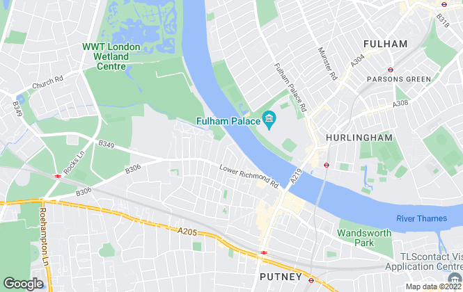Map for The Modern Agent, London