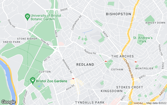 Map for PJ reynolds, Bristol