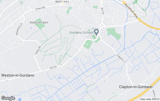 Map for Gordano Property Services LTD, Bristol