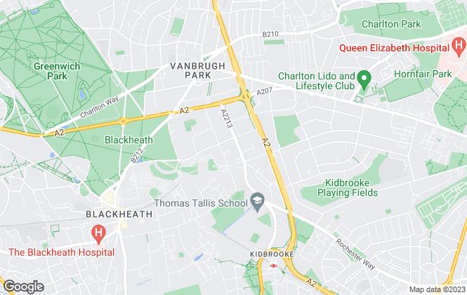 Map for Kershaws Ltd, London
