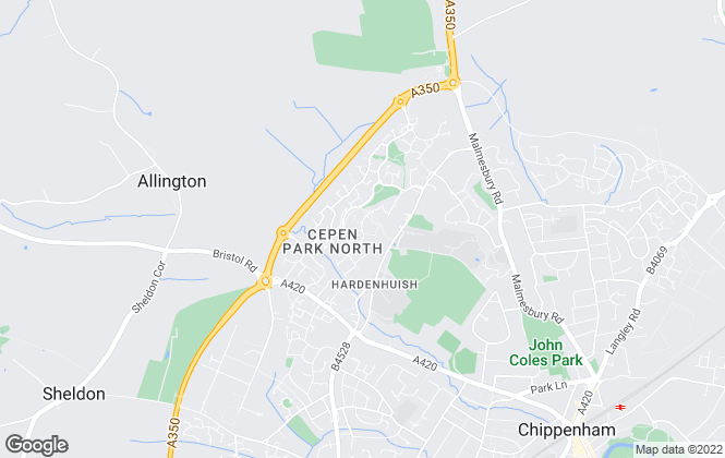 Map for SANDER CONSULTING LIMITED, Chippenham