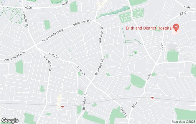 Map for Swift Property Sale, Bexleyheath