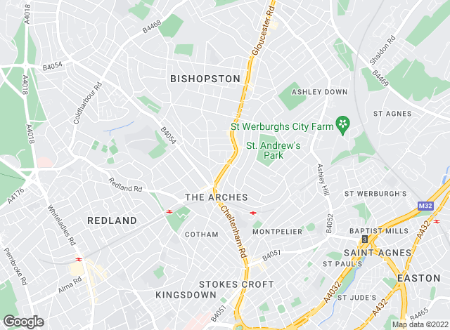 Map for Elephant, Bristol
