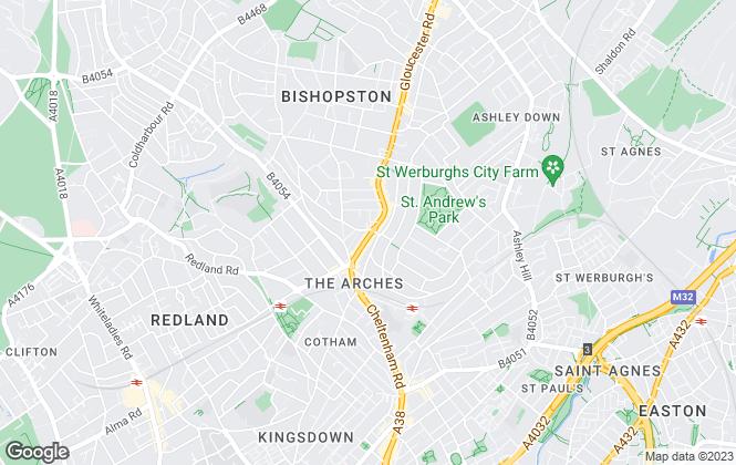 Map for Elephant, Bristol