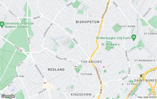Map for JBS Bristol Lettings, Bristol
