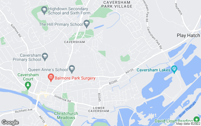 Map for  Fox-Beckett Independent Estate Agents, Caversham