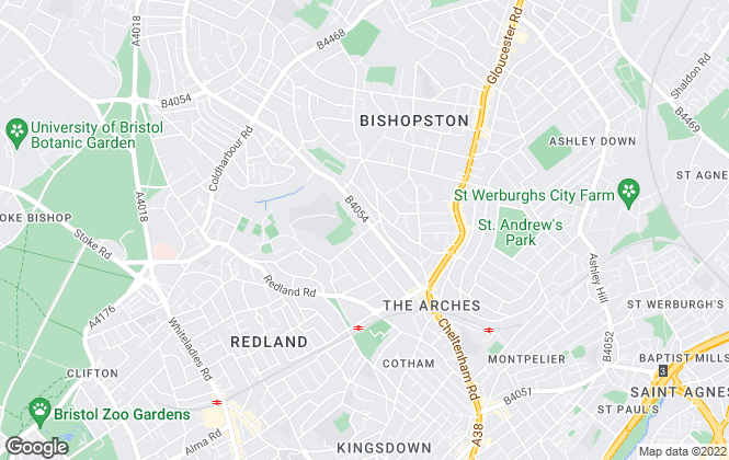 Map for Skeleton Sales & Lettings, Redland