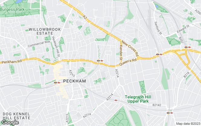 Map for JT Clarke London, London