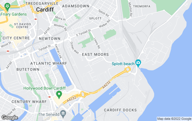 Map for CARDIFF PROPERTIES MANAGEMENT LTD, Cardiff