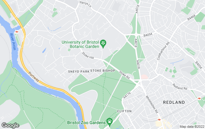 Map for Clifton Homes, Bristol