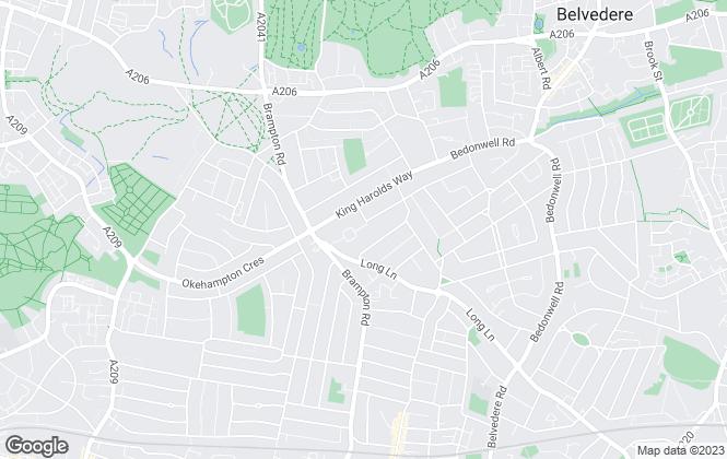 Map for Raylets Ltd, Bexleyheath
