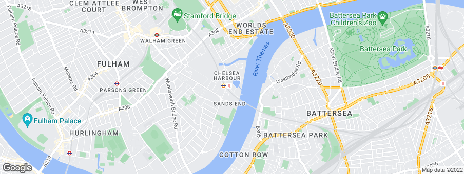 Map for Chelsea Island Developments Limited