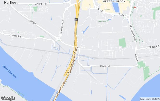Map for Wyldecrest Parks, Rainham