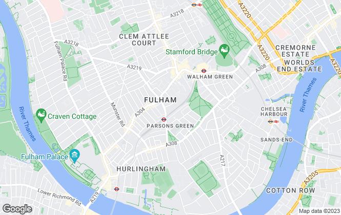 Map for Moveli, London