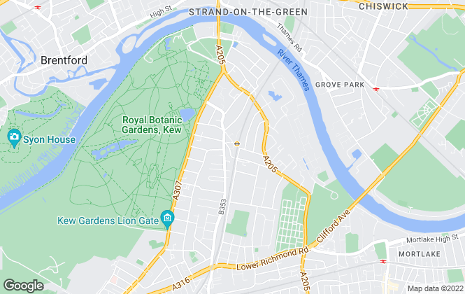 Map for Antony Roberts Estate Agents, Kew -  Sales