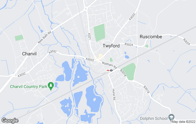 Map for Hunt & Nash, Twyford