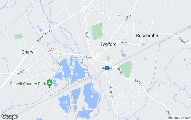 Map for Hunt & Nash, Twyford