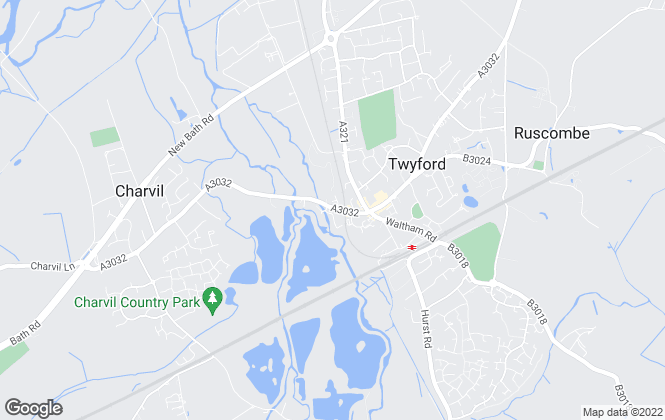 Map for Grapevine Estate Agents, Twyford
