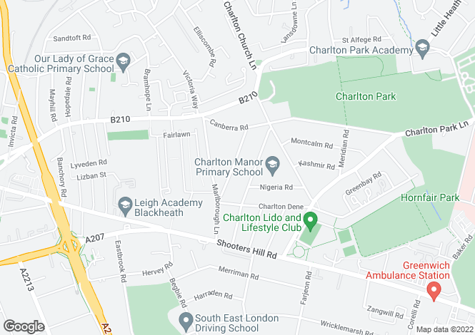 Map for Sutlej Road, Charlton, London, SE7 7DB
