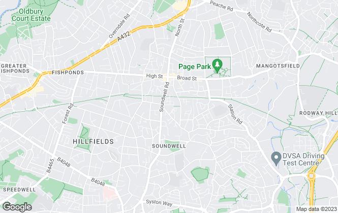 Map for Essential Property Management, Bristol