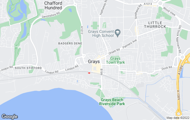 Map for Elite Properties, Essex