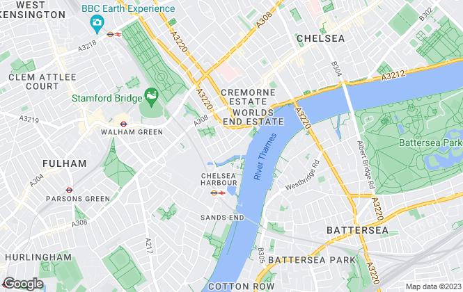 Map for FOURTEEN TEN AGENCY LIMITED, Chelsea