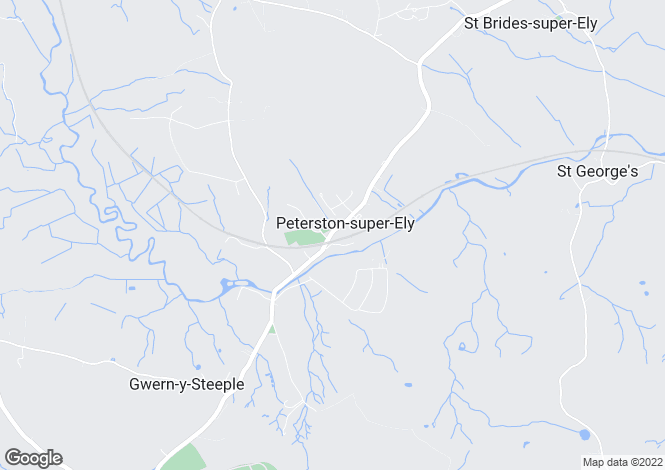 Map for Peterston-super-Ely, Cardiff