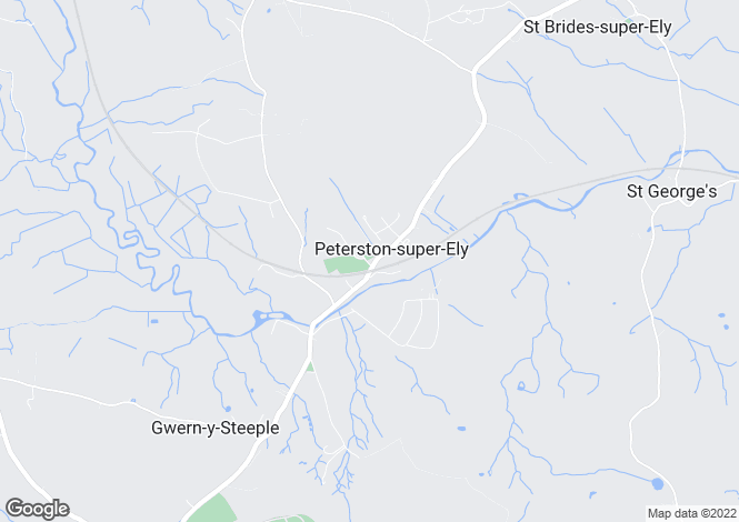 Map for Stepaside, Peterston-Super-Ely, Cardiff