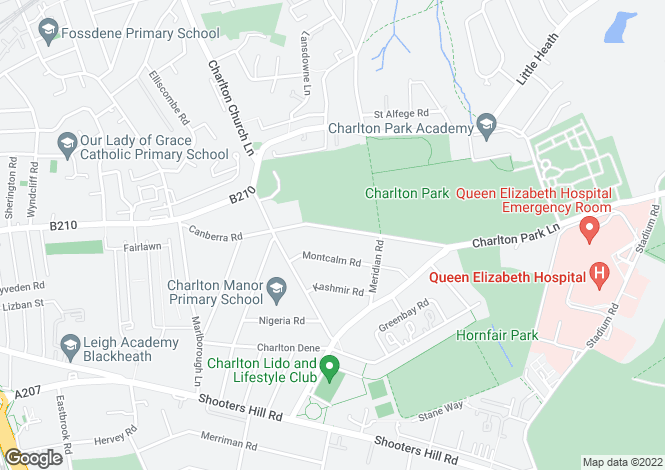 Map for Canberra Road, Charlton, London, SE7 8PE