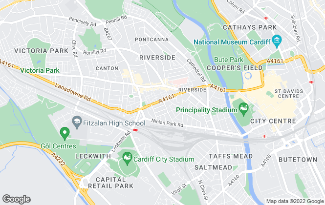 Map for NEXA South Wales, Cardiff