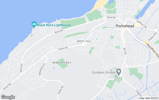 Map for North Somerset Lettings & Management, Portishead