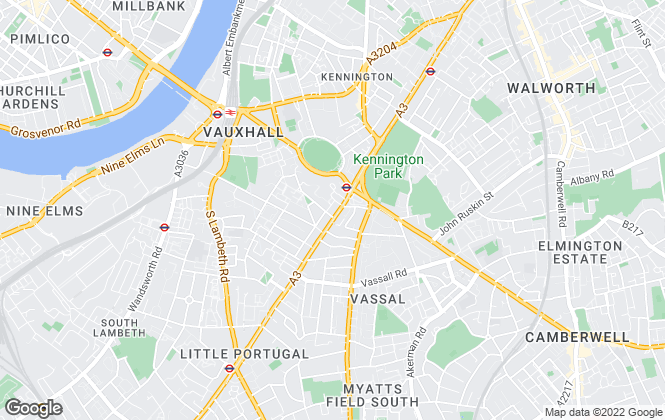 Map for ludlowthompson, Kennington Oval - Sales