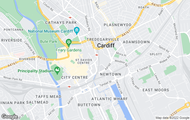 Map for INDIE (LONDON PR TEST), WALES