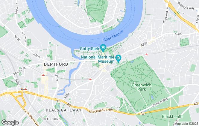 Map for Prime Centrum, London