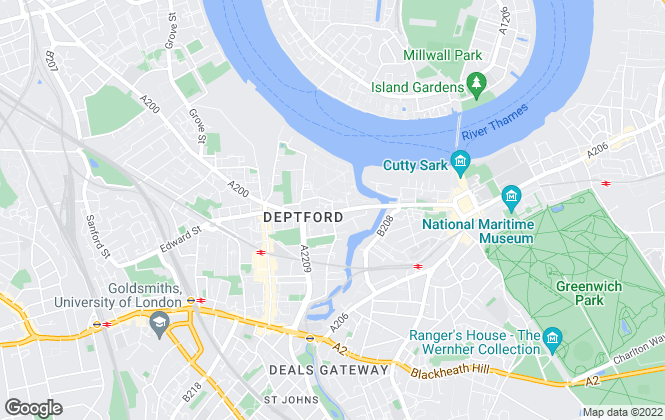 Map for Latitude Residential, London