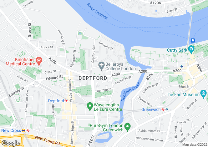 Map for 43-59 Creek Road, Deptford
