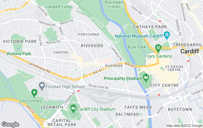 Map for Infinity, Cardiff