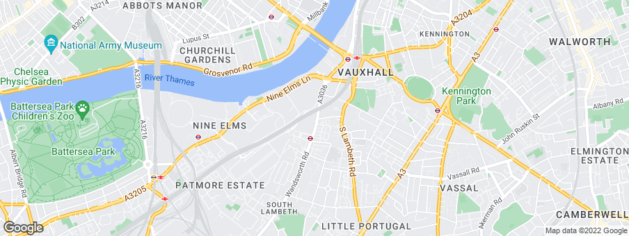 Map for Barratt London - Aldgate