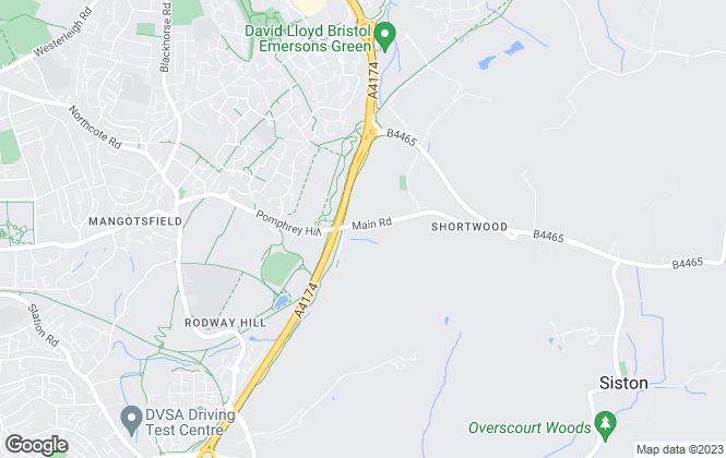 Map for JCB Properties, Bristol