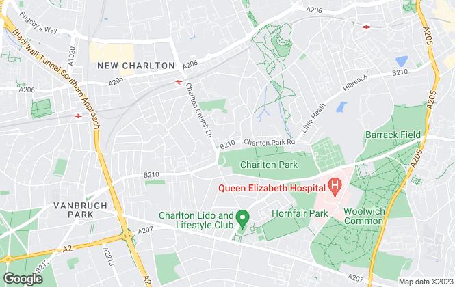 Map for Garner Estates, London